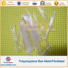 A fibra dos PP é usada principalmente na pintura do cimento
