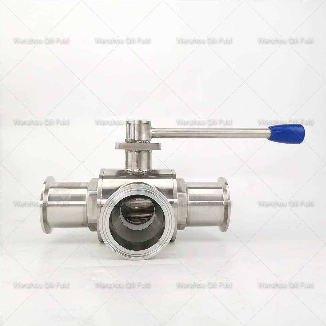 Cutstom tee type ball valve (14)