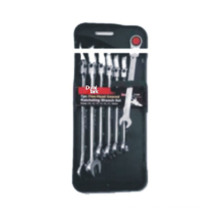 7PC Flex-Head Geared Ratcheting Wrenches Set