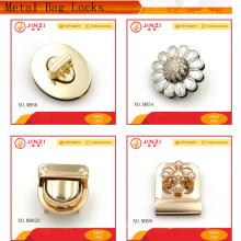 Plain style oval shape luggage lock on sale