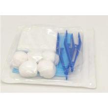 Kit de curativo descartável para cuidados médicos de feridas