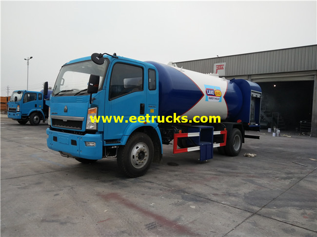 20cbm LPG Gas Filling Trucks