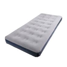светло-серый одноместный надувной матрас для кемпинга