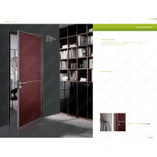 Rote Farbe Tür, rumänische weiße Tür, rumänisches weißes Holz, sichere Constrution Türen für Verkauf