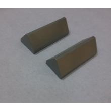 Pontas triangulares personalizadas do carboneto de tungstênio