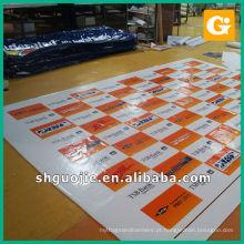 Impressão de faixa de vinil Impressão de tela de vinil barata