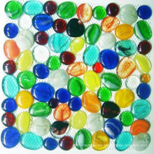 Dekorative Glasnuggets, Glas-Kiesel-Mosaik