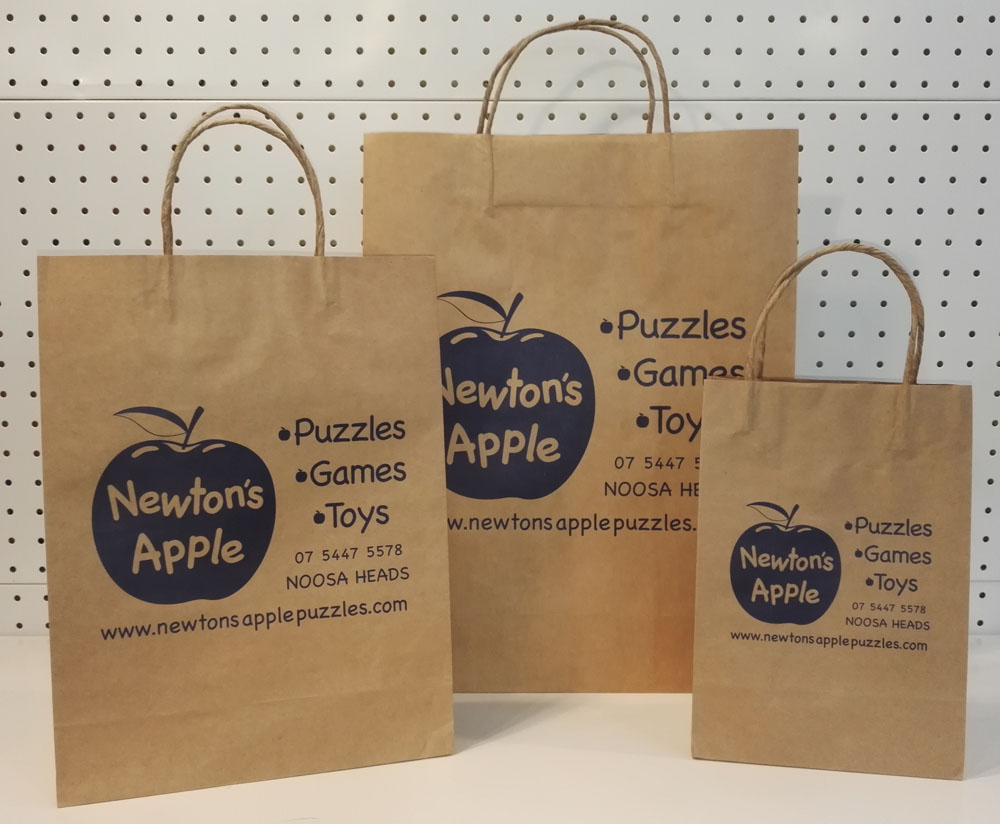 Paper Bags With Handles And Logo