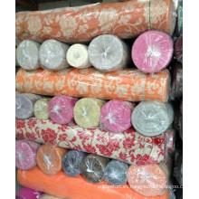 2014 poliéster jacquard chenille sofá tela en stock