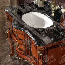 Classique en bois salle de bains en bois salle de bains meubles armoires