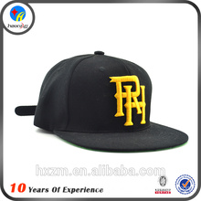 Custom letter embroidery snapback cap