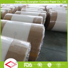 Rollos enormes del papel de la hornada revestido de silicona de los lados dobles 40g