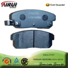 brake pad for NISSAN MAXIMA rear 2001-2003