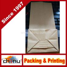 Personalisierte weiße Kraft Mehl Kaffee Zucker Papiertüte mit Kunden Druck (220111)