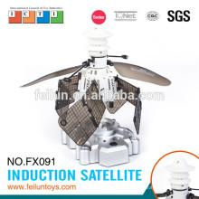 Дешевые датчик летающих индукции Спутниковое rc игрушка небольшой самолет игрушки rc Летающие игрушки для продажи