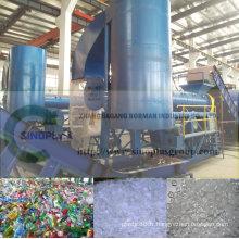 Machine de réutilisation de bouteille d'animal familier