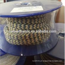 Grafite fibra de aramida trançado embalagem / fibra de aramida e grafite PTFE (SUNWELL)