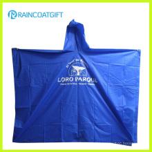 Lightweight Clear PE Disposable Raincoat Rpe-169