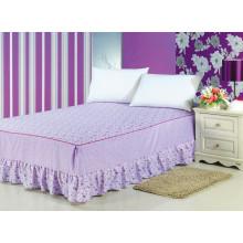 Falda de la cama de la colmena del polvo impreso montado falda de la cama