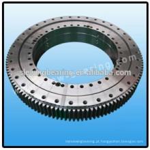 Rolo de três fileiras engrenagem externa rolamento de giro anel de giro usando para escudo máquina de tunelamento