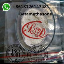 99,8% чистоты Бетаметазон актуальные Стероидный порошок CAS 378-44-9 гормональные Кортикостероидные