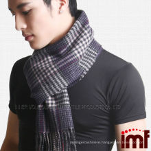 Inner Mongolian Thick Warm Check Cashmere Scarf