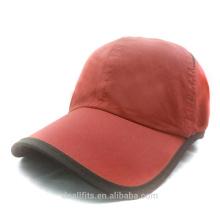 100% polyester with custom logo cheap price golf cap