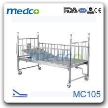 Cama de hospital de hospital Deluxe com slide MC105