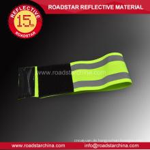 Sicherheit hohe Sichtbarkeit reflex elastisches armband
