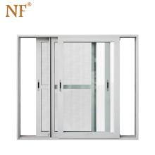 Heavy duty triple glass 3 panels sliding patio door price