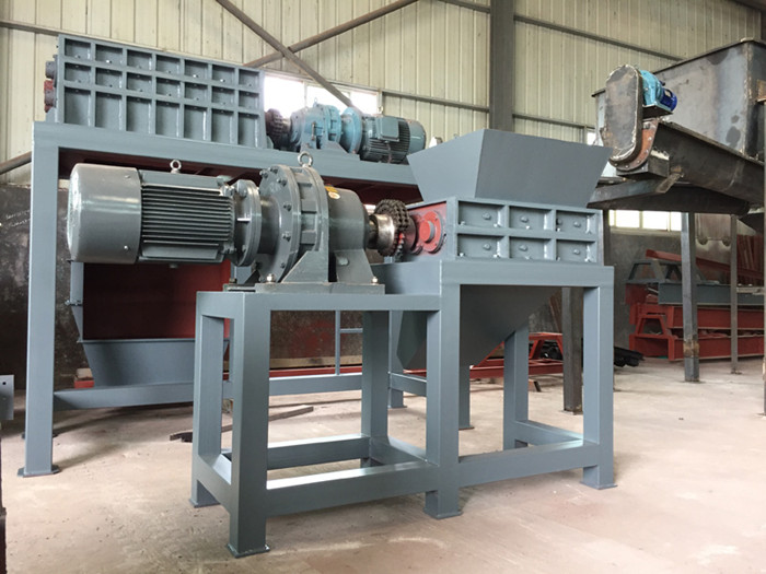 Two shaft crusher