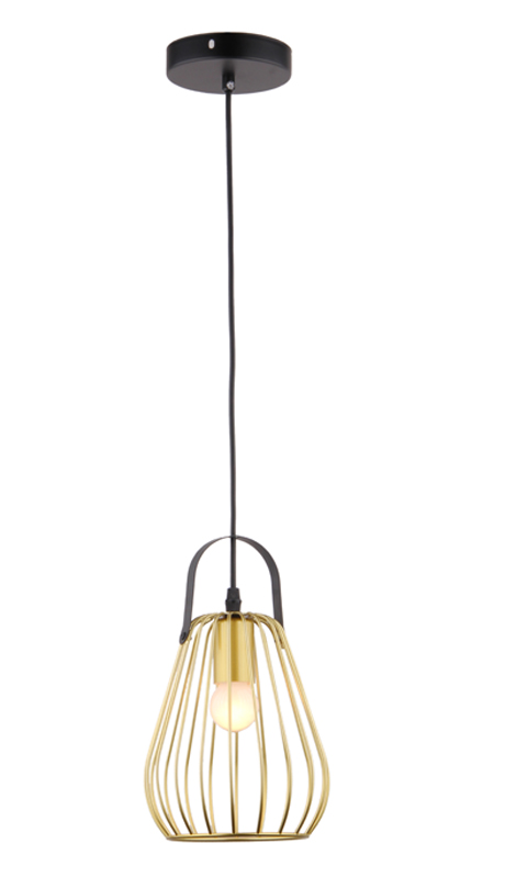 Energy Saving Modern Chandelier Gold