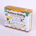 Kundenspezifischer Druckpappbuch-Kasten für Kinderspielzeug