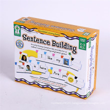 Custom Printing Cardboard Book Box For Children Toy