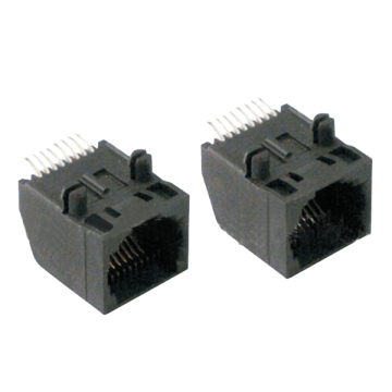 RJ45 8P SIDE ENTRY SMT-Leiterplattenbuchse