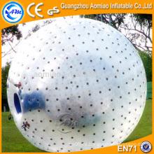 Bola inflable del zorb del cuerpo del balompié del PVC de 0.8mm, venta caliente de la bola del zorb del venta