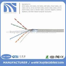 1000 Ft CAT6e Твердый UTP Ethernet объемный сетевой кабель 300м