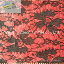 Lace Fabric Bonded With Polyester Fabric For SKIRT
