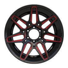 Alloy Aftermarket Truck Wheel 20x9.5 Rot Gefräst