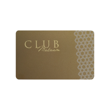 PVC CR80 Gold Vip Card