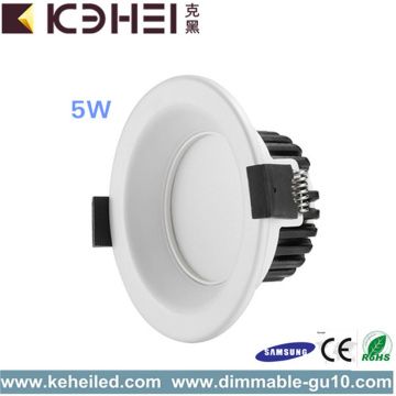 Negro blanco plata LED Downlights 5W 2.5 pulgadas