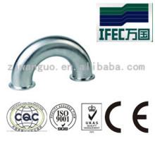 Sanitär Edelstahl 180 Grad geklemmter Winkel (IFEC-SE100001)