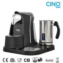 L/B Kapsel-Kaffee-Maschine mit Milchschäumer