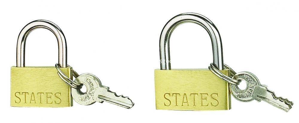 20MM Thin Brass Padlock With Iron Key For Wholesale
