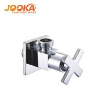 Quick open cross handle zinc square angle valve