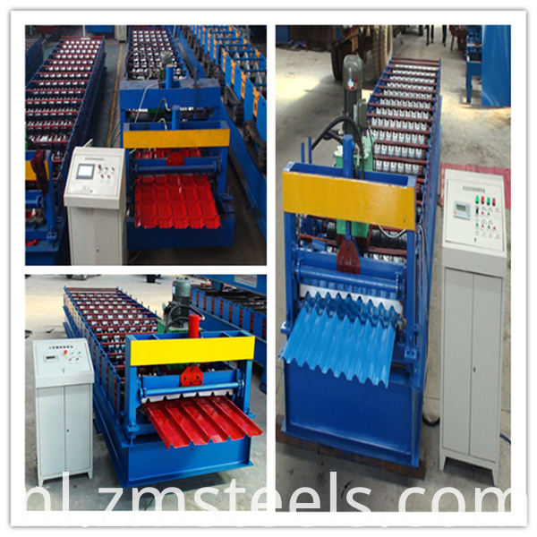 IBR and Wavy Roof Sheet Machine
