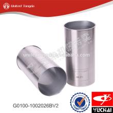 Оригинальная гильза цилиндра двигателя YC4G G0100-1002026BV2