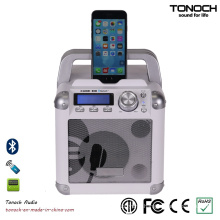4 Inches Portable Wireless Bluetooth Loud Speaker with Battery
