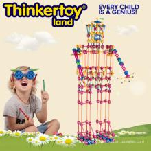2015 Colorfull Huge Plastic Body Building Blocks Education Toys