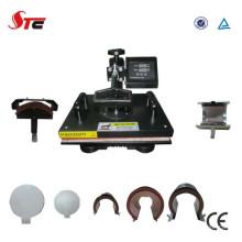 CE aprovado máquina da imprensa do calor de 8 em 1 Combo de baixo preço